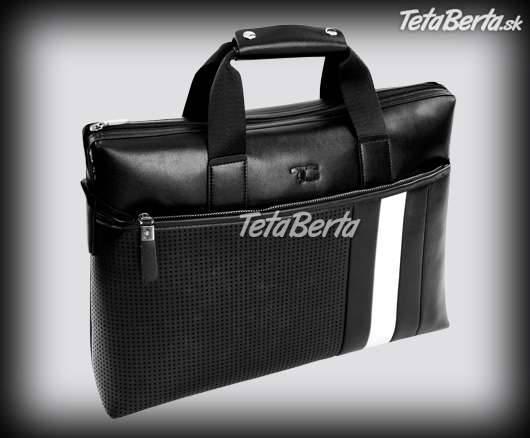 Pánska štýlová taška na notebook a dokumenty  4f003606a7