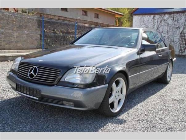 Mercedes-Benz Třída CL 500 - MAX.VÝBAVA - TOP STAV, foto 1 Auto-moto, Automobily | Tetaberta.sk - bazár, inzercia zadarmo