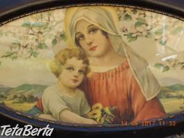 Pozlátený Obrazový rám Panna Mária a Ježiško  , Hobby, voľný čas, Umenie a zbierky    Tetaberta.sk - bazár, inzercia zadarmo