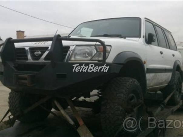 Nissan Patrol Y61 - rozprodám na náhradní díly, foto 1 Auto-moto | Tetaberta.sk - bazár, inzercia zadarmo