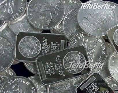 ae19d9a50 Vykup Striebra a predmety zo striebra aj poškodene 0,55 eur za gram  1000/1000   Tetaberta.sk - bazár, inzercia zadarmo