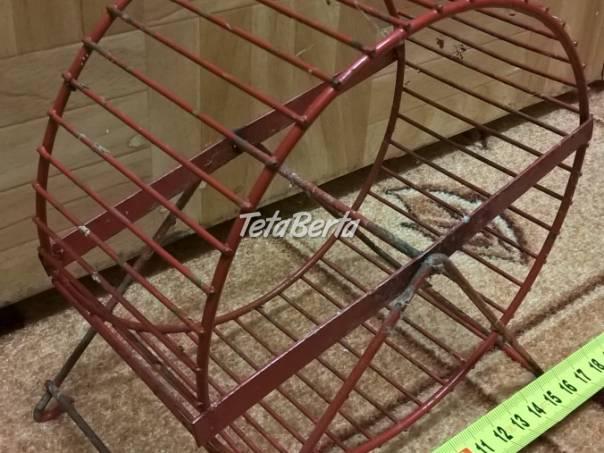 Predám kovové červené koleso pre škrečka., foto 1 Zvieratá, Príslušenstvo a krmivo | Tetaberta.sk - bazár, inzercia zadarmo