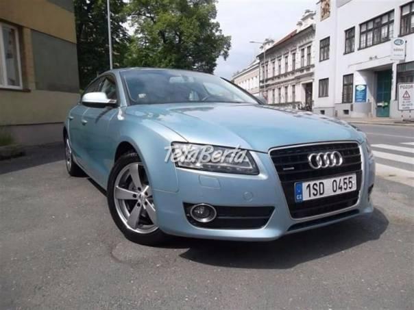 Audi A5 3.0 TDi V6 Quattro Sportback, foto 1 Auto-moto, Automobily   Tetaberta.sk - bazár, inzercia zadarmo