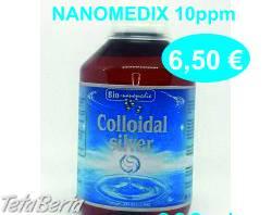 Koloidne striebro NANOMEDIX 10 a 20ppm / 300ml , Móda, krása a zdravie, Starostlivosť o zdravie  | Tetaberta.sk - bazár, inzercia zadarmo