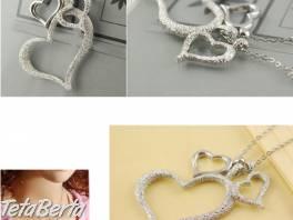 Dámska retiazka s príveskom tri srdcia , Móda, krása a zdravie, Hodinky a šperky  | Tetaberta.sk - bazár, inzercia zadarmo