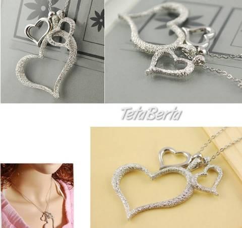 Dámska retiazka s príveskom tri srdcia, foto 1 Móda, krása a zdravie, Hodinky a šperky | Tetaberta.sk - bazár, inzercia zadarmo