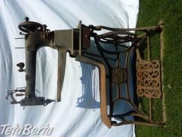 Starožitný obuvnícky šijací stroj DURKOPFF