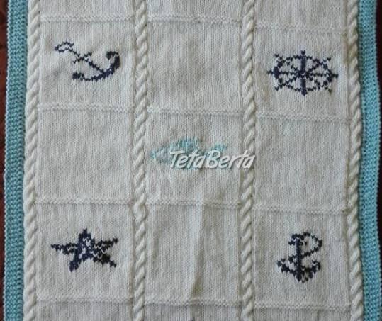 Ručne pletená deka, foto 1 Pre deti, Kojenecké potreby | Tetaberta.sk - bazár, inzercia zadarmo