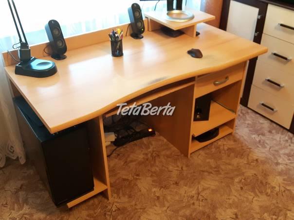 Počítačový Stôl , foto 1 Dom a záhrada, Stoly, pulty a stoličky   Tetaberta.sk - bazár, inzercia zadarmo