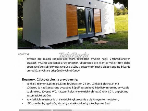 Mobilný modulový dom, foto 1 Dom a záhrada, Stavba a rekonštrukcia domu | Tetaberta.sk - bazár, inzercia zadarmo