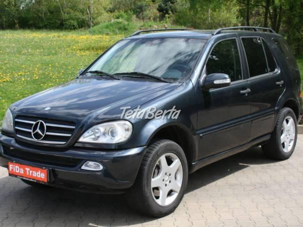 Mercedes-Benz Třída ML 270CDi, 1.Majitel, ČR Původ, foto 1 Auto-moto, Automobily | Tetaberta.sk - bazár, inzercia zadarmo