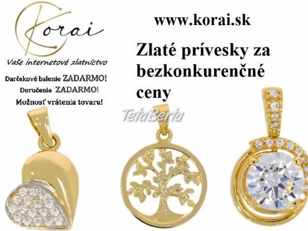 Zlaté prívesky od KORAI, foto 1 Móda, krása a zdravie, Hodinky a šperky   Tetaberta.sk - bazár, inzercia zadarmo