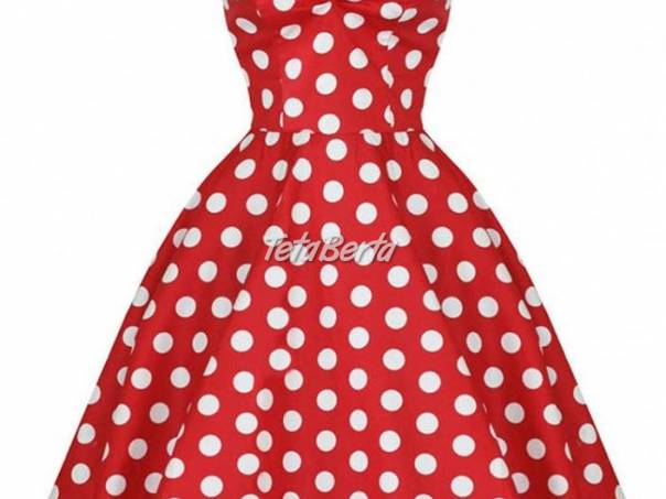 d599ffb87e9f Dámske bodkované šaty - S