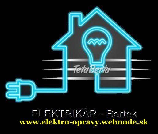 Elektrikár Bratislava + okolie NONSTOP, foto 1 Dom a záhrada, Záhradný nábytok, dekorácie | Tetaberta.sk - bazár, inzercia zadarmo