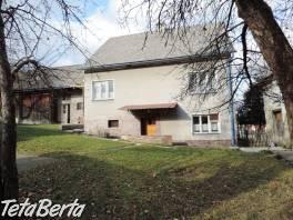 RE01021208 Dom / Rodinný dom (Predaj) , Reality, Domy  | Tetaberta.sk - bazár, inzercia zadarmo