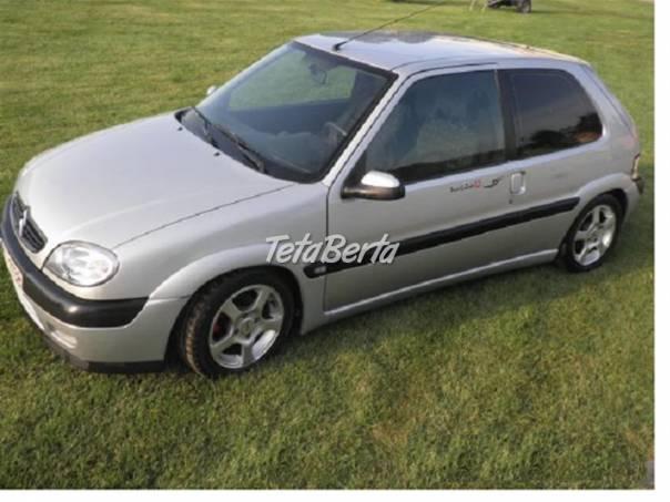 Citroën Saxo 1,6 VTS 8V, foto 1 Auto-moto, Automobily | Tetaberta.sk - bazár, inzercia zadarmo