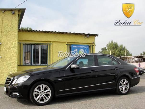 Mercedes-Benz Třída E E 220 CDI Avantgarde, foto 1 Auto-moto, Automobily | Tetaberta.sk - bazár, inzercia zadarmo
