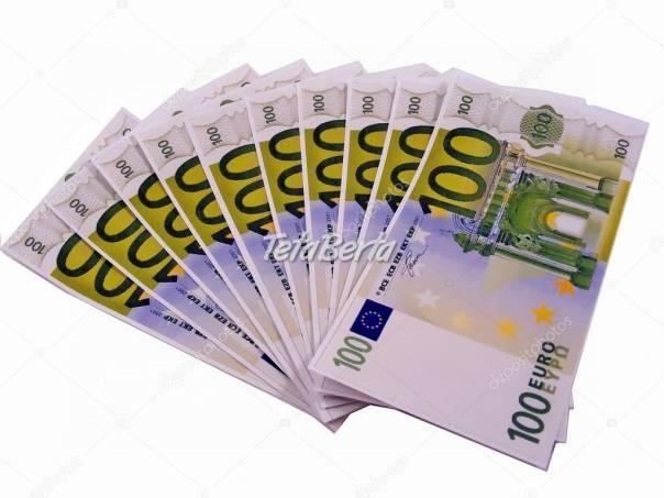 PÔŽIČKY NA ČOKOĽVEK, foto 1 Obchod a služby, Financie | Tetaberta.sk - bazár, inzercia zadarmo
