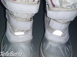 Biele zateplené čižmy na zimu v. 29 pre dievča zn. Lupillu, vnútorná dĺžka 19cm, zateplené zvnútra kožušinkou, nepremokavé , Pre deti, Detská obuv  | Tetaberta.sk - bazár, inzercia zadarmo