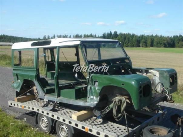 Land Rover Defender 110 TD5, KLIMA, ABS, foto 1 Auto-moto, Automobily | Tetaberta.sk - bazár, inzercia zadarmo