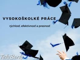 Bakalárske, diplomové a seminárne práce , Obchod a služby, Kurzy a školenia  | Tetaberta.sk - bazár, inzercia zadarmo