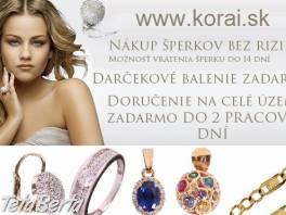 Krásne zlaté šperky od KORAI ako darček na Vianoce , Móda, krása a zdravie, Hodinky a šperky  | Tetaberta.sk - bazár, inzercia zadarmo