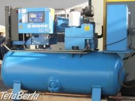 Zánovný skrutkový kompresor BOGE C 10 LDR-10-350 na ležatom vzdušníku 350 l , Obchod a služby, Stroje a zariadenia  | Tetaberta.sk - bazár, inzercia zadarmo