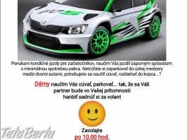 Kondicne jazdy + parkovanie , Obchod a služby, Kurzy a školenia  | Tetaberta.sk - bazár, inzercia zadarmo