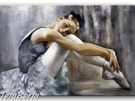 BALETKA - olejomalba na plátně 900x600mm , Hobby, voľný čas, Umenie a zbierky    Tetaberta.sk - bazár, inzercia zadarmo