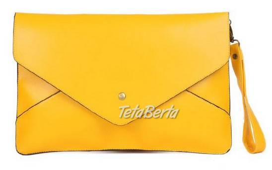 1dae196e2cc Listová kabelka žltá