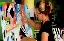 Maľovanie v Hoteli Galéria Bratislava., foto 1 Hobby, voľný čas, Umenie a zbierky | Tetaberta.sk - bazár, inzercia zadarmo