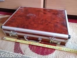 Predám hliníkový kufrík, hnedý. , Hobby, voľný čas, Ostatné  | Tetaberta.sk - bazár, inzercia zadarmo