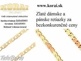 Retiazky zo žltého zlata KORAI , Móda, krása a zdravie, Hodinky a šperky  | Tetaberta.sk - bazár, inzercia zadarmo