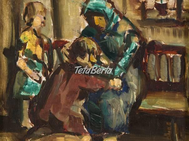 Poaukčný predaj výtvarných diel, foto 1 Hobby, voľný čas, Umenie a zbierky | Tetaberta.sk - bazár, inzercia zadarmo