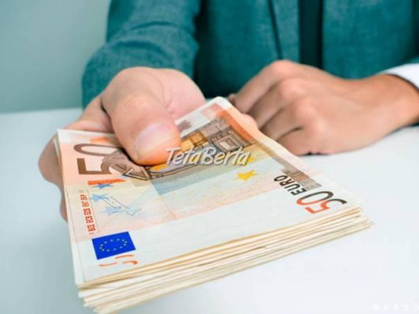 Ponuka pôžičky vážnym ľuďom: , foto 1 Elektro, Ostatné | Tetaberta.sk - bazár, inzercia zadarmo
