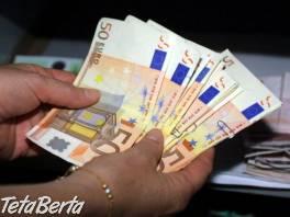 NEBANKOVÁ Pôžička pre každého. , Obchod a služby, Financie  | Tetaberta.sk - bazár, inzercia zadarmo