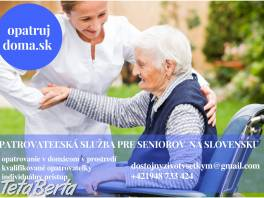 Opatrovanie seniorov v domácom prostredí , Obchod a služby, Ostatné  | Tetaberta.sk - bazár, inzercia zadarmo