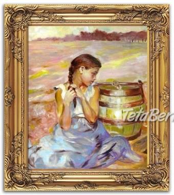 Olejomalba na plátně - bohatě zdobený rám 630x530mm, foto 1 Hobby, voľný čas, Umenie a zbierky | Tetaberta.sk - bazár, inzercia zadarmo