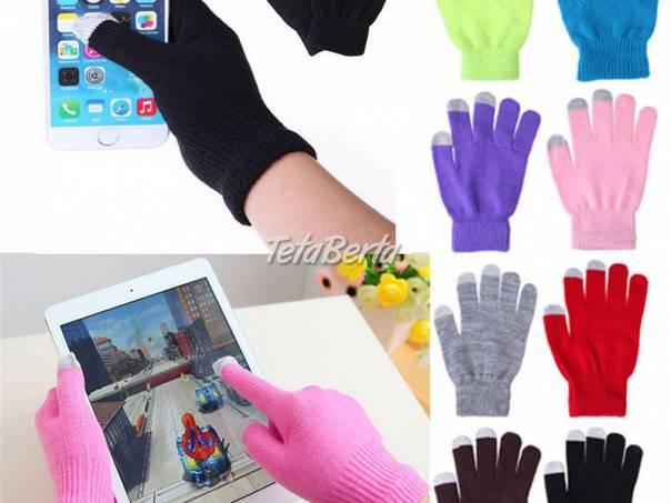 Dotykové rukavice pre smartfóny, foto 1 Elektro, Mobilné telefóny | Tetaberta.sk - bazár, inzercia zadarmo
