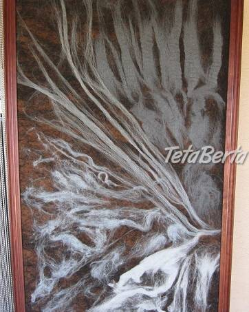 Art protis -netkaná tapiséria z vlny, foto 1 Hobby, voľný čas, Umenie a zbierky   Tetaberta.sk - bazár, inzercia zadarmo