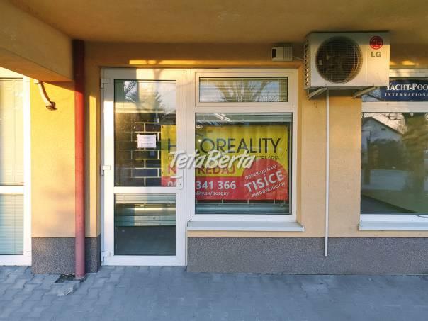 Predám obchodný priestor s výkladom, Bratislava, Mierová ul., foto 1 Reality, Kancelárie a obch. priestory   Tetaberta.sk - bazár, inzercia zadarmo