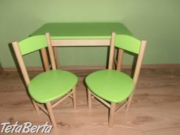 Stolik so stoličkami , Pre deti, Detský nábytok  | Tetaberta.sk - bazár, inzercia zadarmo