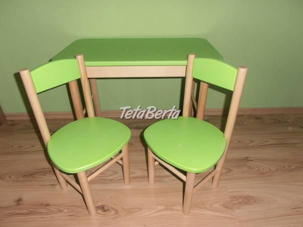 Stolik so stoličkami, foto 1 Pre deti, Detský nábytok | Tetaberta.sk - bazár, inzercia zadarmo