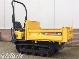 pasovy dumper Yanmar C12R so zárukou, (odvezie europaletu ťažkú max 1.150 kg ) , Poľnohospodárske a stavebné stroje, Stavebné stroje  | Tetaberta.sk - bazár, inzercia zadarmo