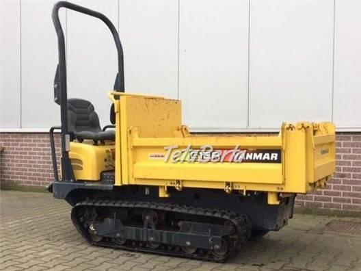 pasovy dumper Yanmar C12R so zárukou, (odvezie europaletu ťažkú max 1.150 kg ), foto 1 Poľnohospodárske a stavebné stroje, Stavebné stroje | Tetaberta.sk - bazár, inzercia zadarmo