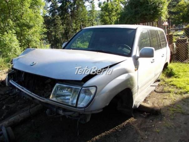 Toyota Land Cruiser 100 4.2TD NÁHRADNÍ DÍLY, foto 1 Auto-moto | Tetaberta.sk - bazár, inzercia zadarmo