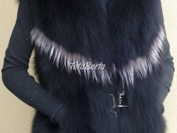 0da80d9766 Luxusná dámska kožušinová vesta z polárnej líšky.