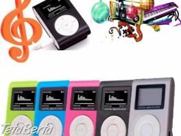 Praktický mp3 prehrávač 32 GB !  , Elektro, MP3, audio    Tetaberta.sk - bazár, inzercia zadarmo