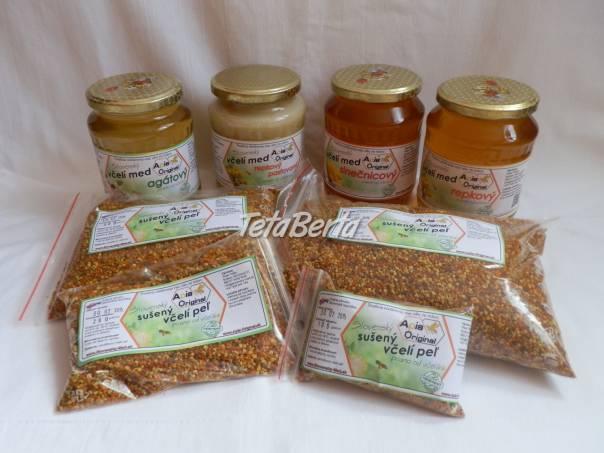 Včelie produkty, včelí med, včelí peľ (sušený aj mrazený), foto 1 Dom a záhrada, Zo záhradky | Tetaberta.sk - bazár, inzercia zadarmo