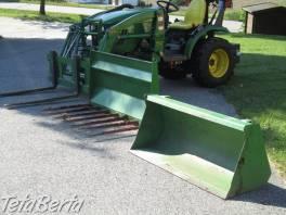 John Deere 2320 traktor s príslušenstvom , Poľnohospodárske a stavebné stroje, Poľnohospodárské stroje    Tetaberta.sk - bazár, inzercia zadarmo